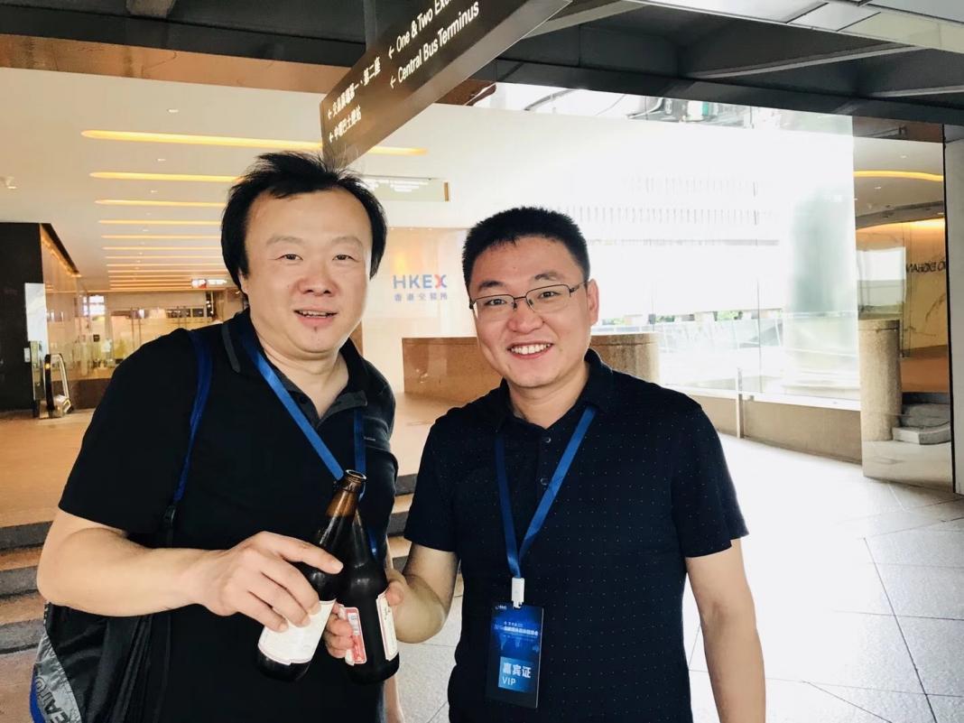 区块链领域知名投资人&DFund创始人赵东、车库咖啡创始人苏菂在港交所_CEO搜索引擎