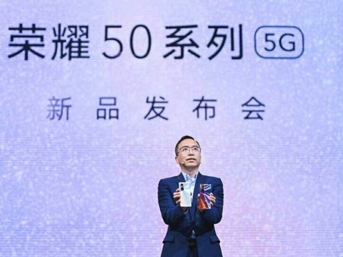 Honor Mobile CEO Zhao Ming personally released the most beautiful mobile phone of the year, fully interpreting the origin and integration of Honor 50 research and development