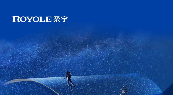 It is the continuous promotion of Royole technology that the flexible nameplate and soft tree can appear at the China-ASEAN Expo, representing the backbone of my country's technological innovation and welcoming visitors from all directions